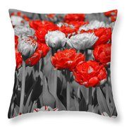 Just A Little Color Please Throw Pillow