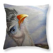 What Did You Say Throw Pillow