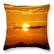 What Do You See Sunset Throw Pillow