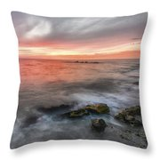 What Ends The Day Throw Pillow