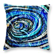 What Goes Around Comes Around IIi Throw Pillow