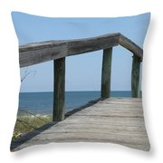 What Goes Up Throw Pillow