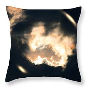 What Holds The Sky Up Under The Wind Throw Pillow