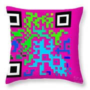 What Is Fine Art Quick Response  Throw Pillow