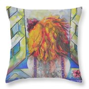 What Lies Ahead Series     I Miss You Throw Pillow