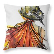 What Lies Ahead Series  I Found Me Throw Pillow