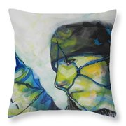 What Lies Ahead Series... The Lows Throw Pillow