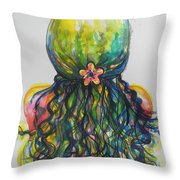 What Lies Ahead Series...tangled Up Throw Pillow