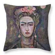 What. Love For Frida 2013 Throw Pillow