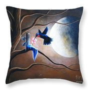 What Love Looks Like By Shawna Erback Throw Pillow