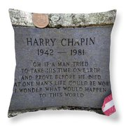 What One Man's Life Could Be Worth Throw Pillow