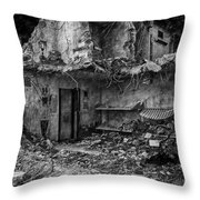 What Was Once A Prison  Throw Pillow