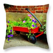 What We Find Throw Pillow