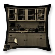 What You Doing Out There Throw Pillow