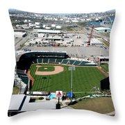 Whataburger Field Corpus Christi Tx Throw Pillow