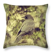 Whatever Comes His Way Throw Pillow