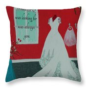 Whatever I Was Looking For Was Always You - Rumi Quote Throw Pillow