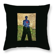 What's In Your Heart ? Throw Pillow