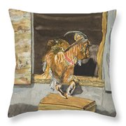 What's The Password Throw Pillow