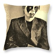 Whats The Point In Miming No One Listens Throw Pillow