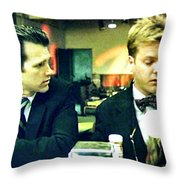What's The Time Stanley 2013 Throw Pillow by Twin Peaks