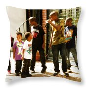 Whats Up Throw Pillow