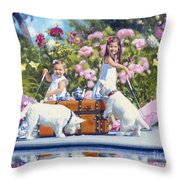 Whats Your Cup Of Tea Throw Pillow