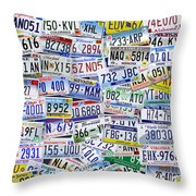 What's Your License? Throw Pillow by Bedros Awak