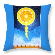 Wheat-shire  Throw Pillow