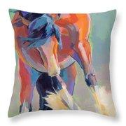 Whee Throw Pillow by Kimberly Santini