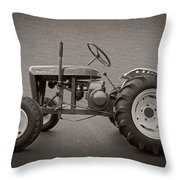 Wheel Horse Vintage Throw Pillow