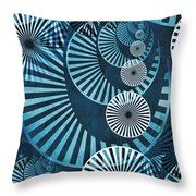 Wheel In The Sky 1 Throw Pillow