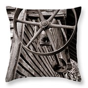 Wheel Of Labor  Throw Pillow