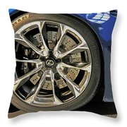 Wheel Of The Future Throw Pillow