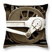 Wheel Power Throw Pillow