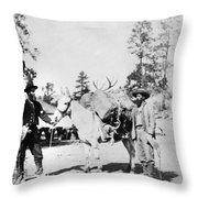 Wheeler Ecpedition, 1871 Throw Pillow