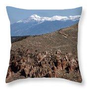 Wheeler Peak Throw Pillow