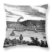 Wheeling, West Virginia Throw Pillow