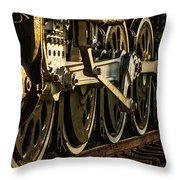 Wheels Throw Pillow