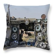 Wheels For Sale Mexico Throw Pillow
