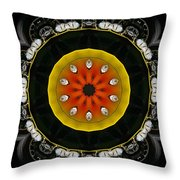 Wheels Go Round Throw Pillow