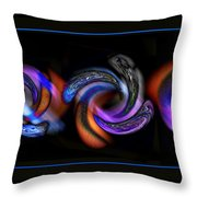 Wheels In Motion Throw Pillow