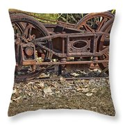 Wheels V3 Throw Pillow
