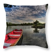 When All You Hear Is The Nature Around You...v4 Throw Pillow