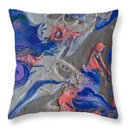 When Angels Fail Throw Pillow