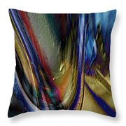 When Beauty Visits The Hard Place Throw Pillow