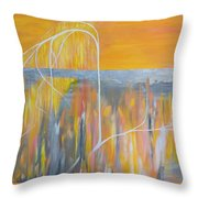 When Branches Become Roots Throw Pillow