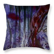 When Darkness Beckons Throw Pillow