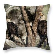 When Eagles Sing Throw Pillow