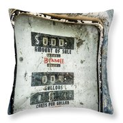 When Gas Made Cents Throw Pillow
